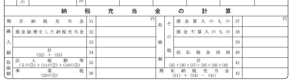 別表5-2の書き方 別表4と別表5-1の関連性